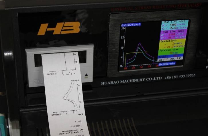 HB-vibratory stress relieving machine