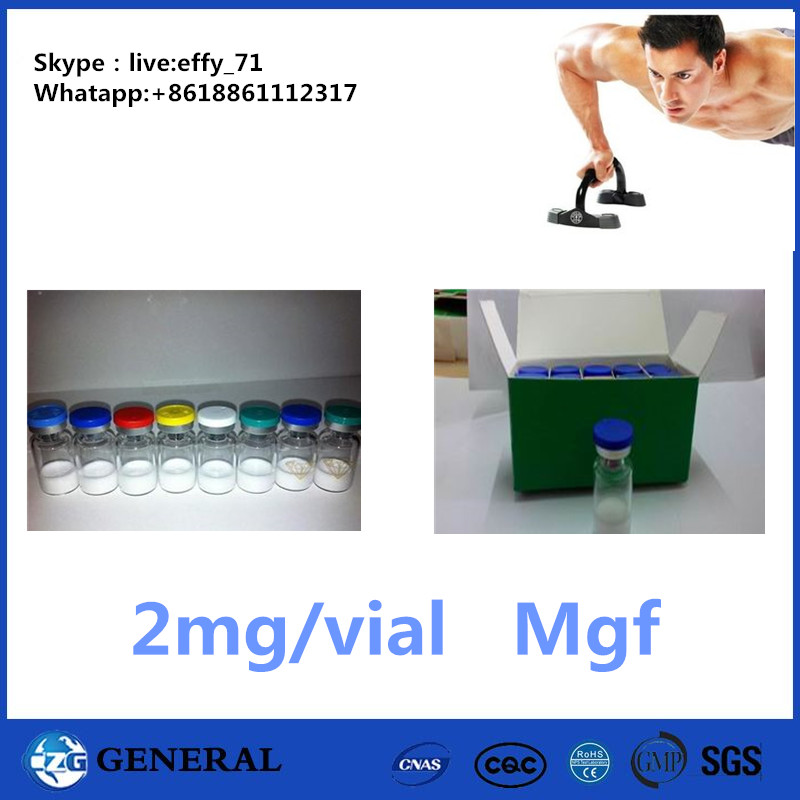 Lyophilized Powder Polypeptide Hormones PEG-MGF / Pegylated Mgf 2mg/Vial Insulin-like growth factor