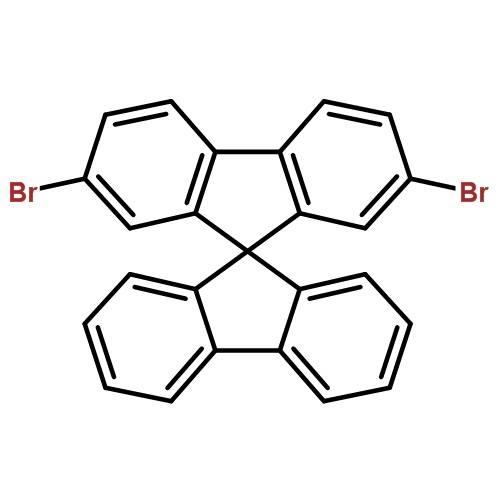2,7-Dibromo-9,9'-spiro-bifluorene[171408-84-7]