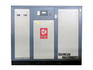 Electric Fixed Screw Air Compressor (QK110KW)