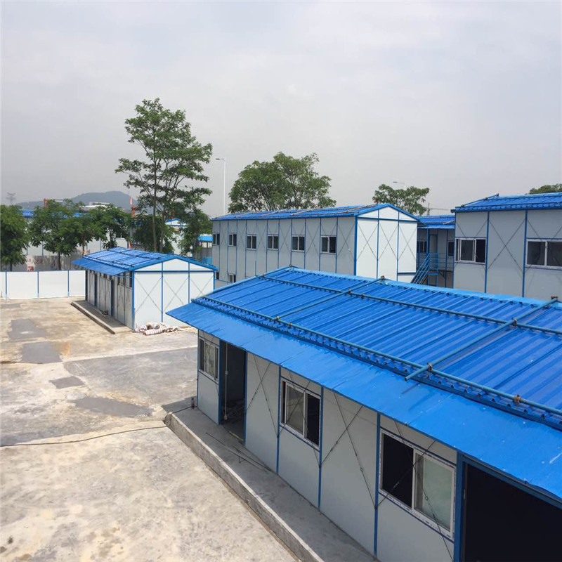 China Low cost Construction real estate Light Steel frame building Prefabricated house dormitory