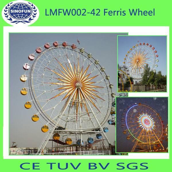 [Sinofun Rides]amusement park rides(42m ferris wheel)(big wheel)