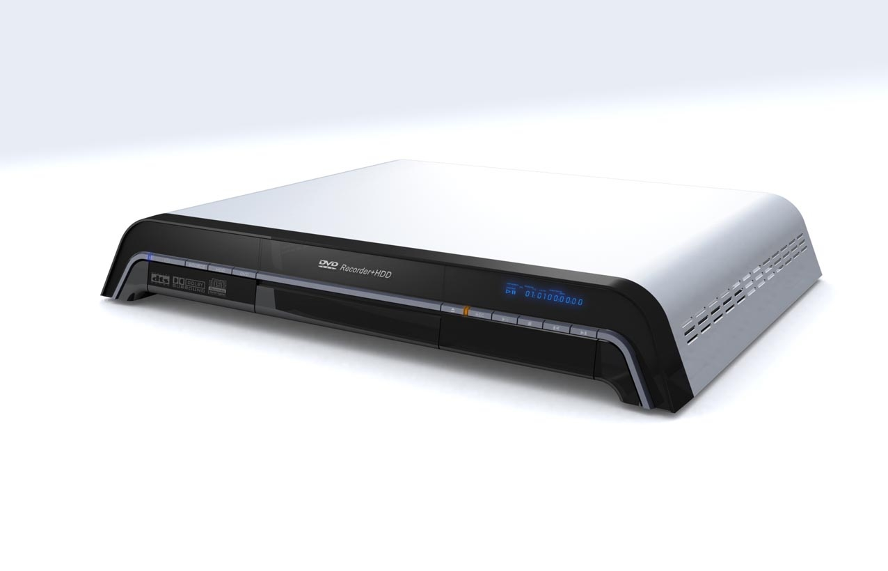 DVD recorder with HDD