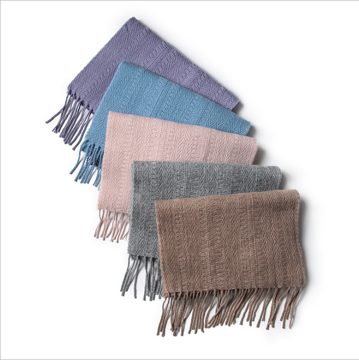 China Factory Wholesale Export 100% Cashmere Scarf