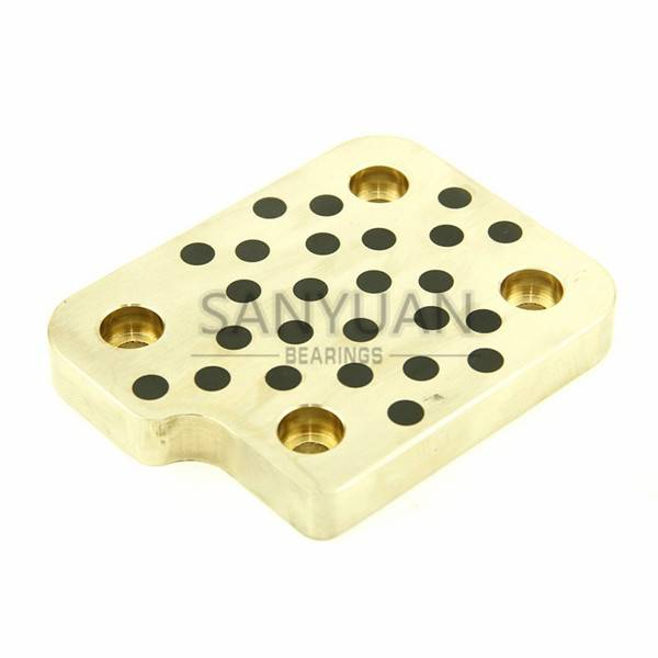 Brass Guide Plate Oilless Plate Mold Parts