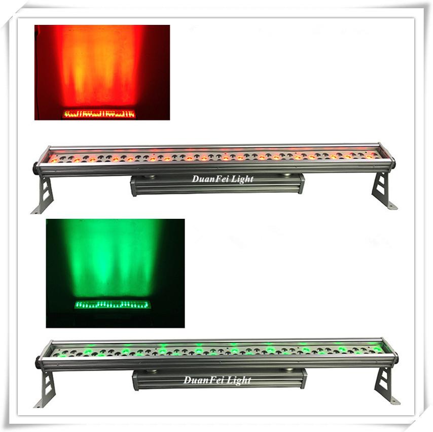 hight bright led wall washer rgbw ip65 bar led strip wall washer 72x3w