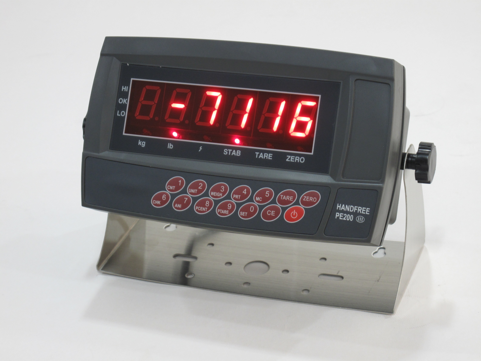 master and slave weighing indicator