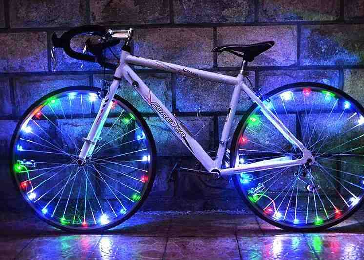 colorful LED Flash Tyre Wheel Valve Cap Light for Car Bike bicyclen Wheel Light Tire Light