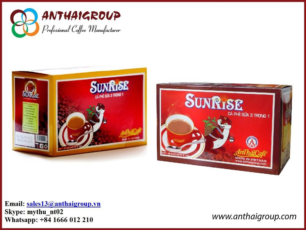 INSTANT COFFEE MIX 3 IN 1 - SUNRISE