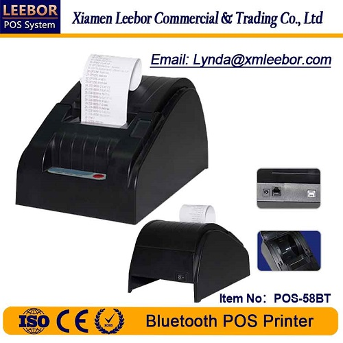 58mm High Speed POS Printer/ Bluetooth Thermal Printer/ Support Android System/ Receipt Printing