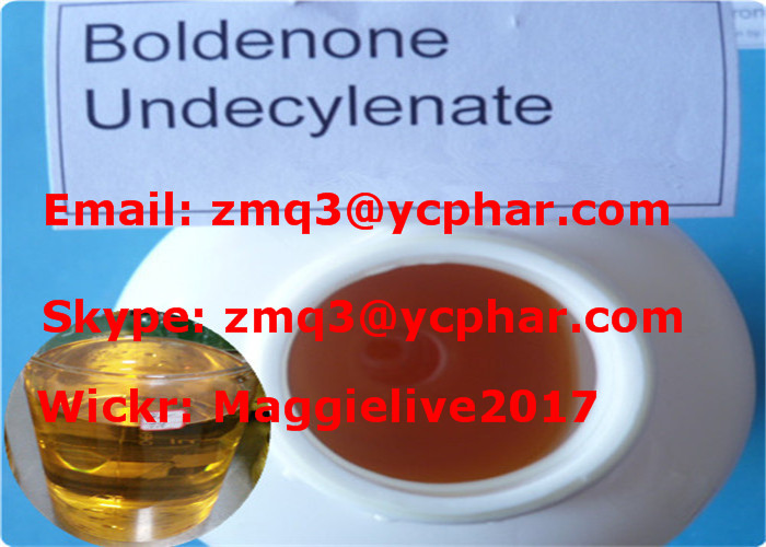 High Purity Steroid Hormone Base / Boldenone Undecylenate CAS: 13103-34-9