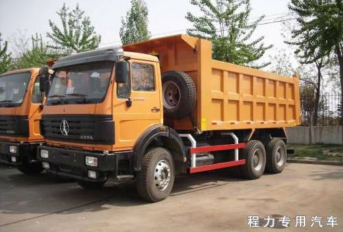 North Benz 8*4 dump truck/tipper