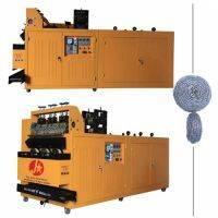 100kgs/8hrs scourer kitchen manufacturing machine