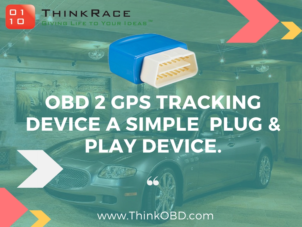 OBD 2 CAR GPS Tracker - A simple Plug and Play Car Tracking Device