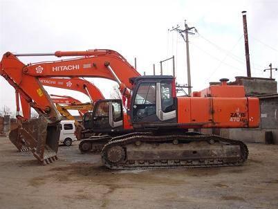 Used Hitachi ZX470 Crawler Excavator