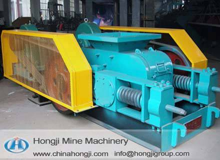 Hongji teeth-roller crusher reputable high efficiency