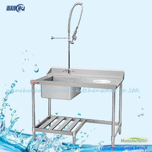 Single Sink Dish Washer Table