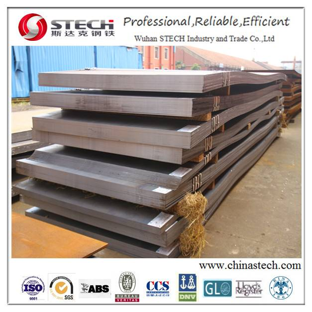 ABS Grade A/B/D/E Steel Plate for Shipbuilding