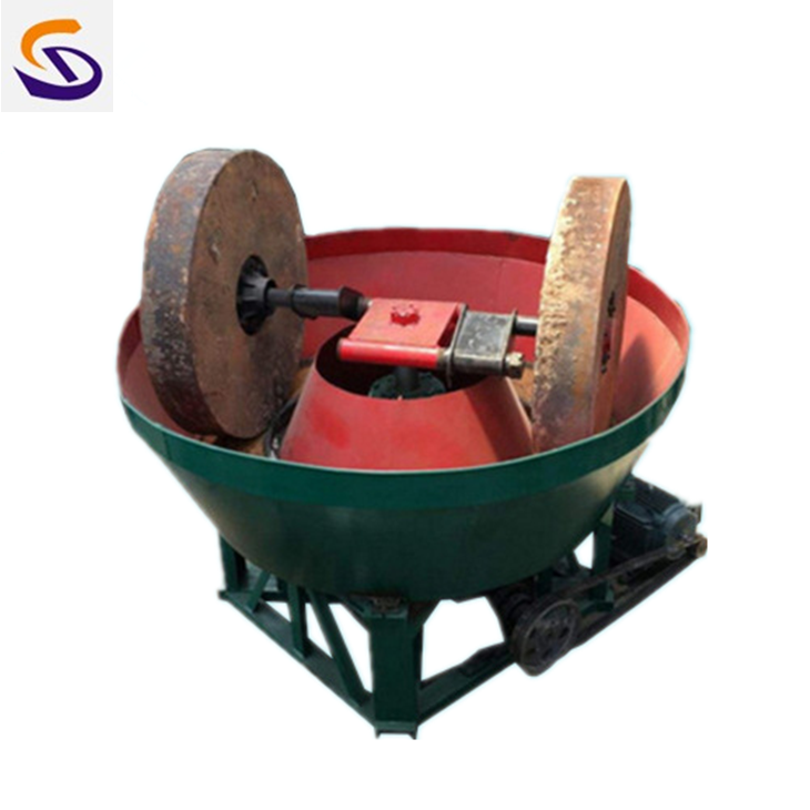 Professional China Wet Pan Mill Grinding Machine for Gold Selection with Reasonable Price