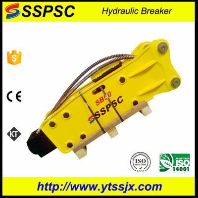 Compact top style light duty excavator backhoe loader skid steer rock hammer SSPSC SB50