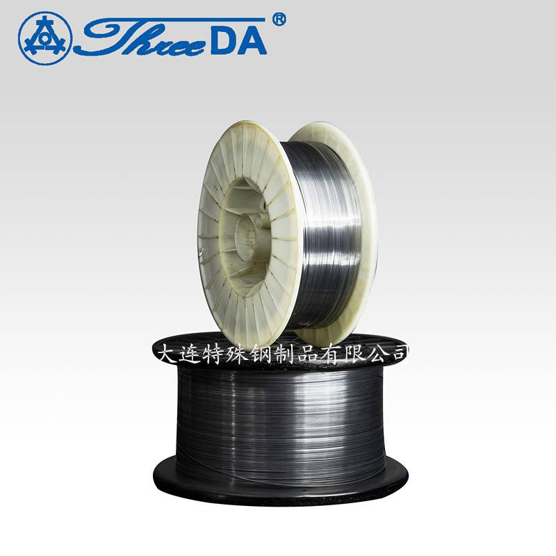Round wire and flat wire