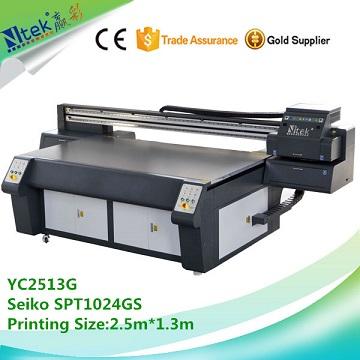NTEK factory supply uv glass printing machine,uv flatbed printer inkjet for glass printing
