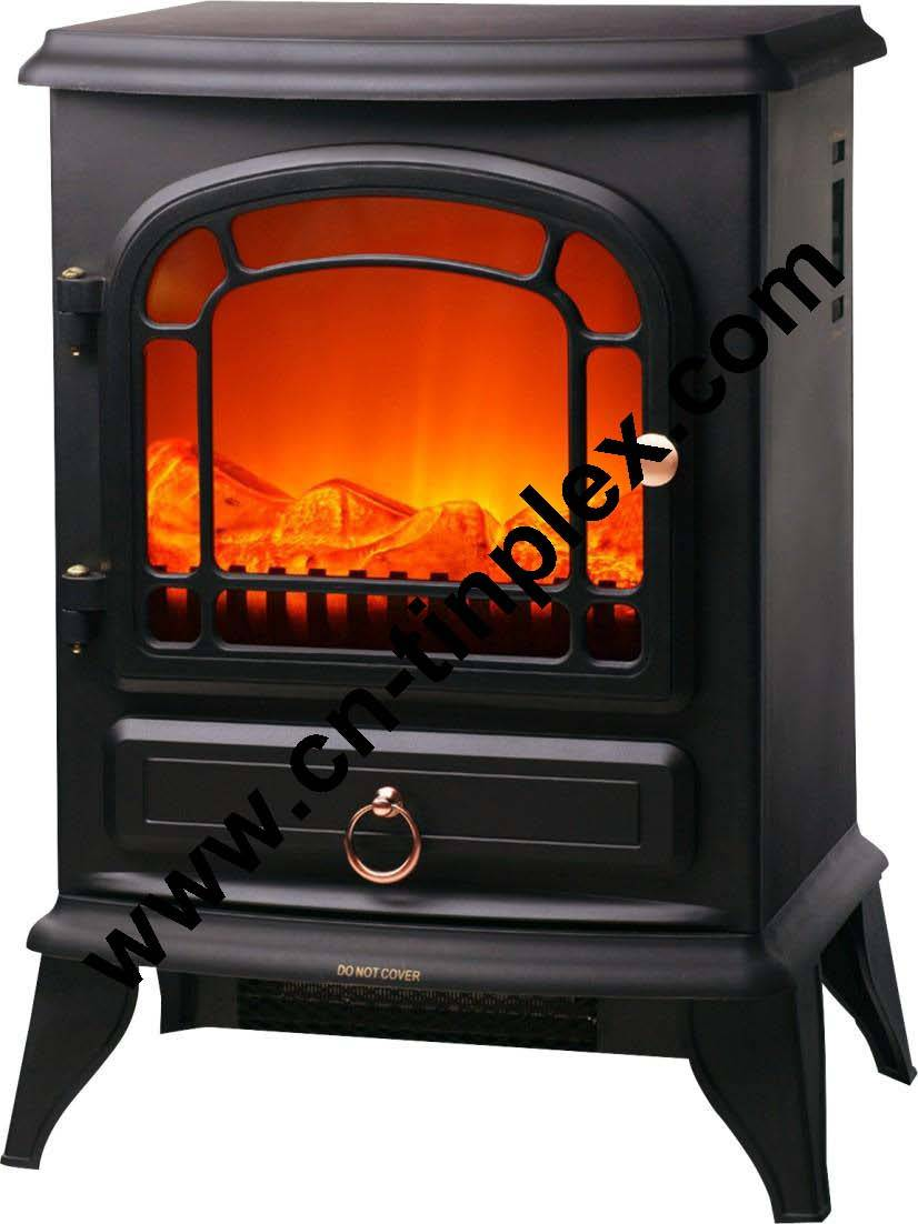 Hot sale European stylish design fireplace heater with openable door