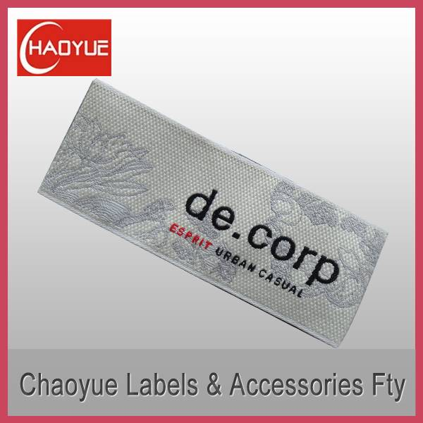 Woven clothing label