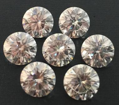 Moissanite Round Cut 6.5mm*6.5mm