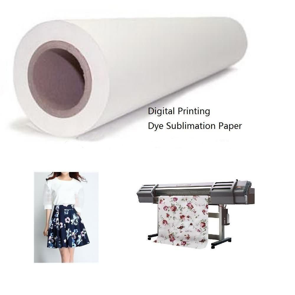 Jumbo reel Sublimation transfer paper