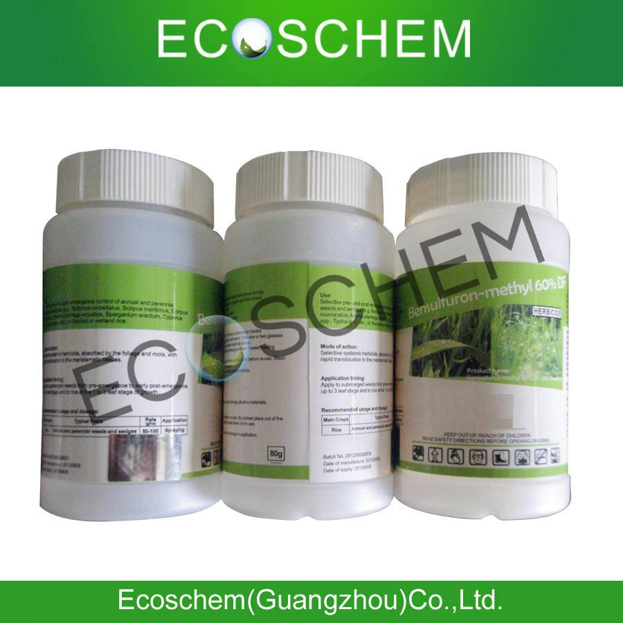 Agrochemical Herbicide Metsulfuron-methyl 60% wdg, 60% wp, 60% DF for weed control