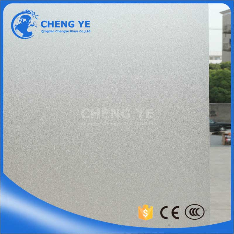Cheap Decoration 4mm 8mm Transparent Obscure Safety Privacy Glass