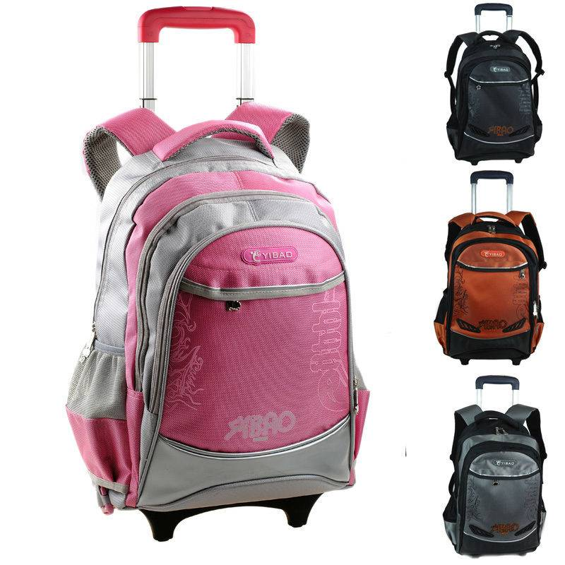 Fashion hot-selling burdens backpack trolley school bag  YF-T599