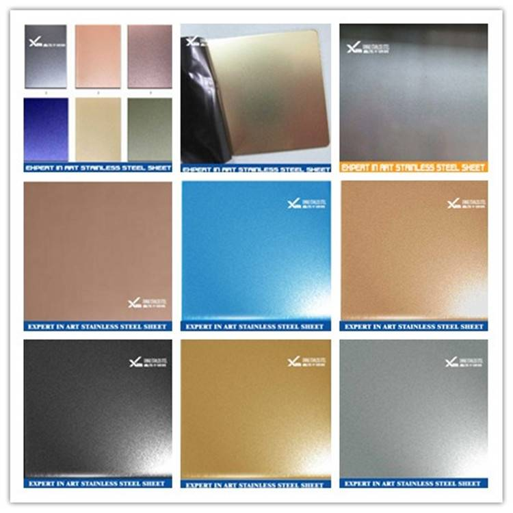 316l sand blast surface finish stainless steel sheet