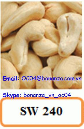 Cashew Nut Scorched Whole 240 - SW 240