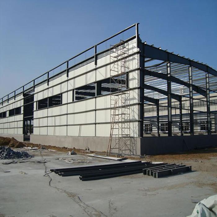 Prefab Structure Steel Buildings Welding Auto Workshop
