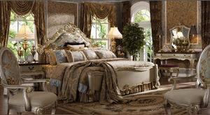 royal antique bedroom furniture, european latest oak wooden bedrooms