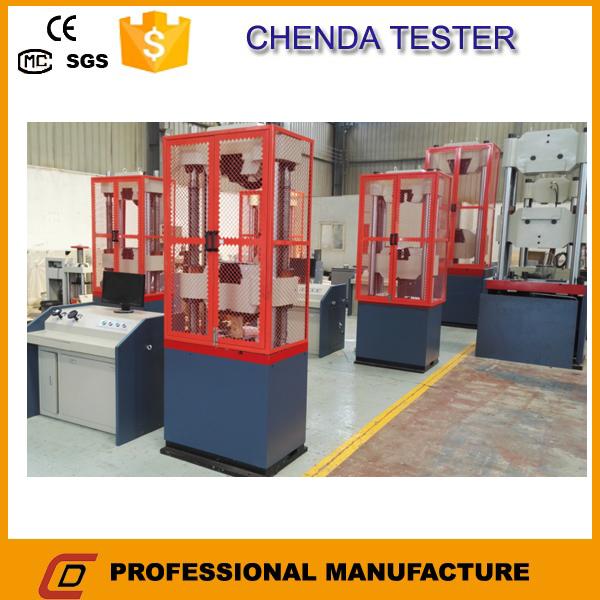 100kn Hydraulic universal testing machine +universal tensile testing machine +lab equipment