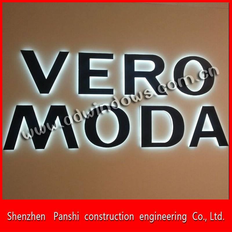 Name board designs shop signs storefront sign led backlit board