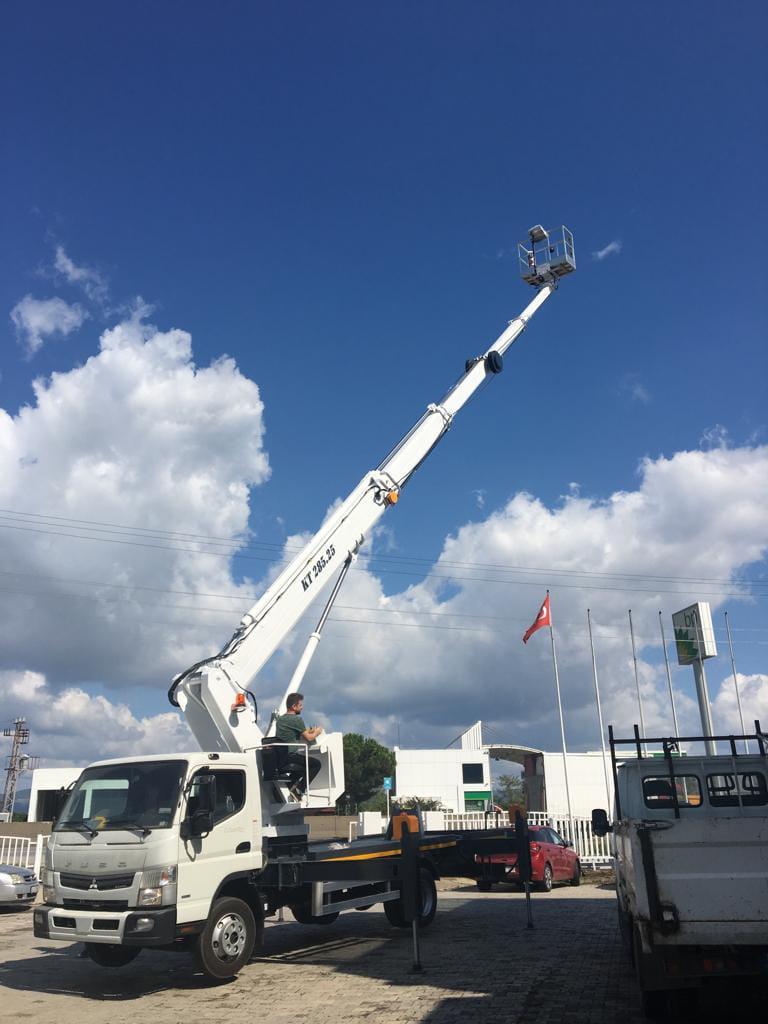 Truck Mounted Aerial Work Platform - Paksan