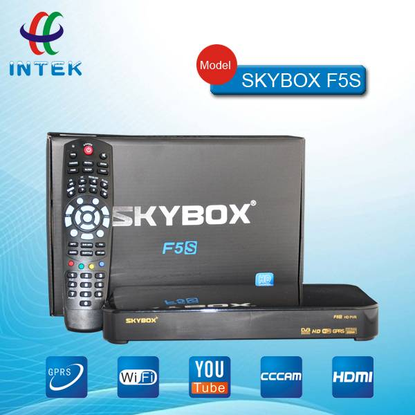 Newest original Skybox F5S HD tv receiver support GPRS and WIFI