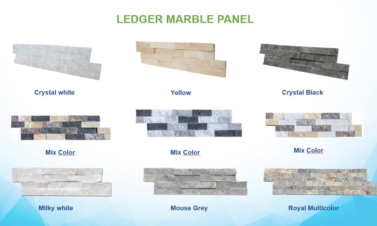 Ledger Marble Wall Panel