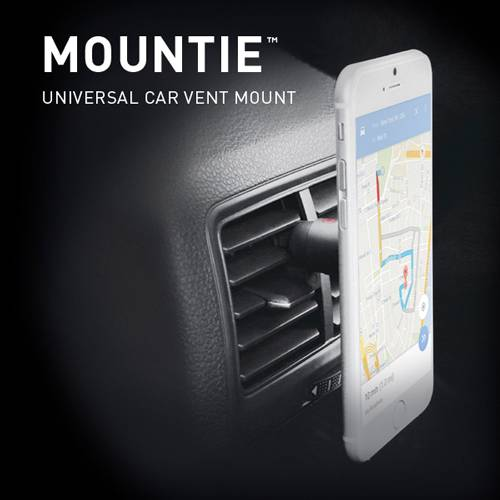 Car Mount Mountie Universal Cell Phone GPS Air Vent Magnetic Car Cradle