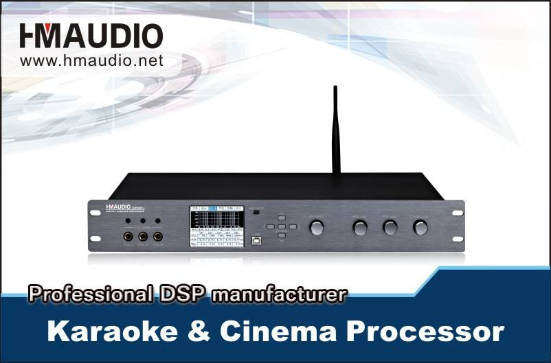 DSP 9600+ Professional Digital Karaoke& Cinema Processor(Wifi)