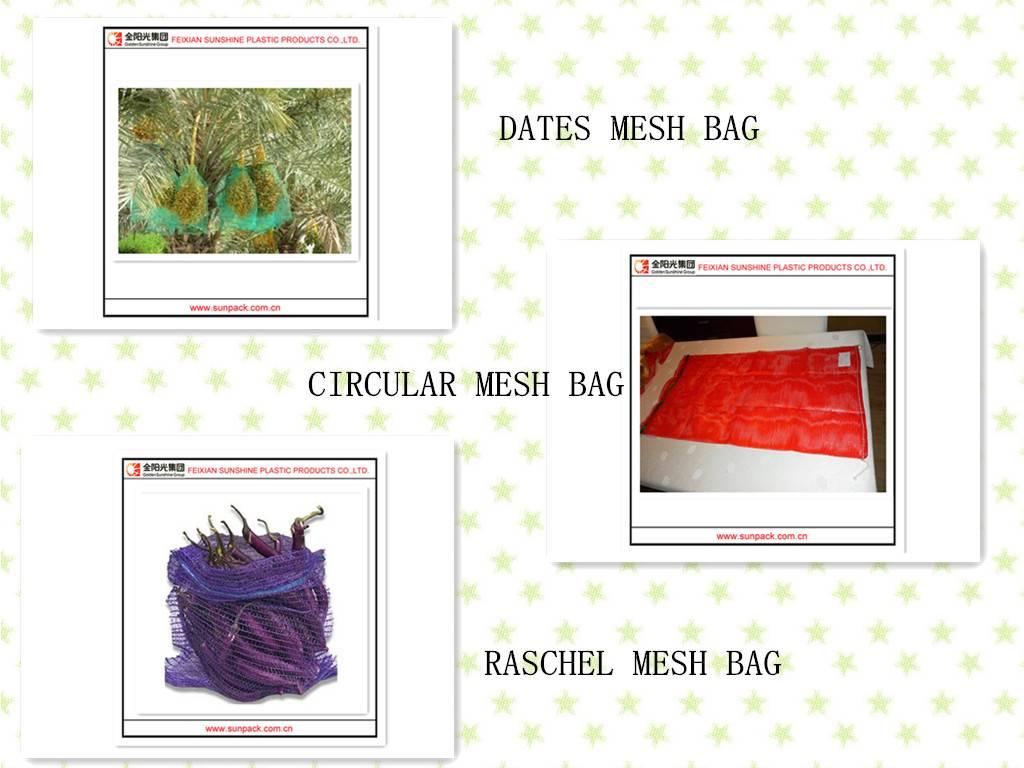 China PP/PE MESH BAG