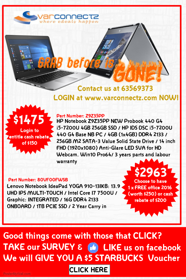 Grab it before is gone Special deal on HP and Lenovo Laptop