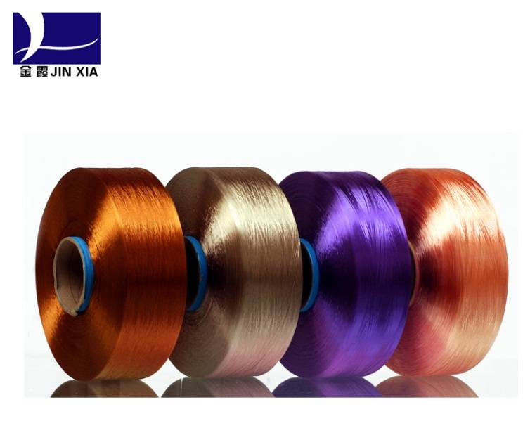 Polyester Dope Dyed FDY Bright Yarn