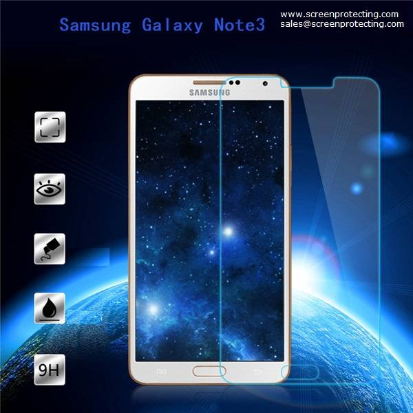 2.5D Screen Guard Protection 9H Premium Tempered Glass Screen Protector for Samsung Galaxy Note3