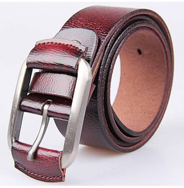 2015 cool women leather belt newest design metal belts for men and women LB3423