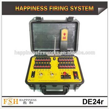 24 channels manual control & remote control fireworks firing system, Sequential fire system, Pyrotec